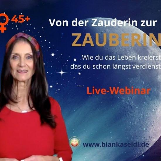 LIVE-WEBINAR VON DER ZAUDERIN ZUR ZAUBERIN